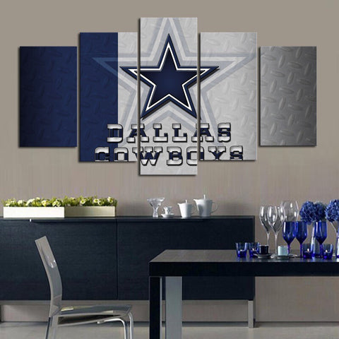 HD Limited Edition Cowboys Canvas Metal