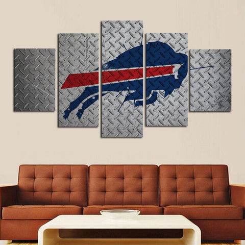 HD Limited Edition Bills Canvas Metal