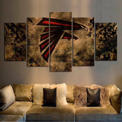 HD Limited Edition Falcons Canvas