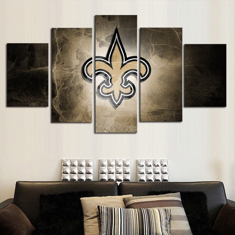 HD Limited Edition Saints Canvas