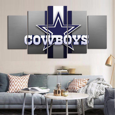 HD Limited Edition Cowboys Canvas