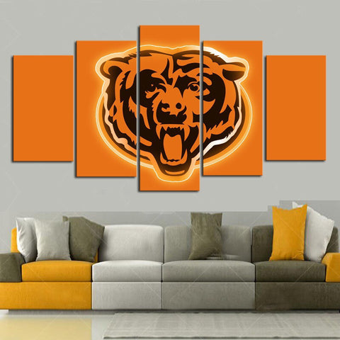 HD Limited Edition Bears Canvas