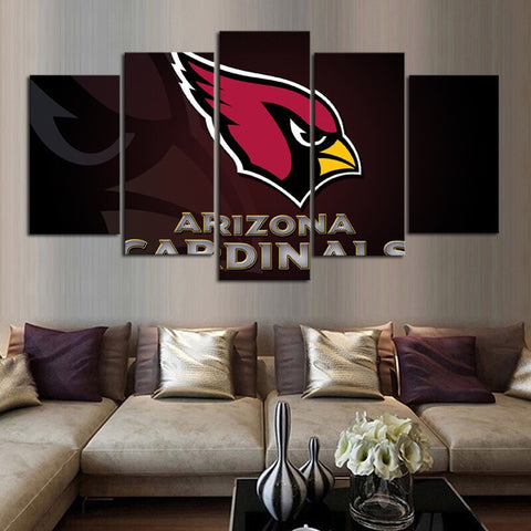 HD Limited Edition Cardinals Canvas Logo