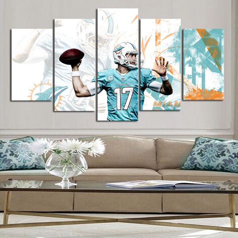HD Limited Edition Dolphins Canvas Player