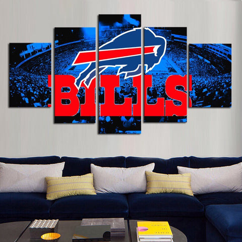 HD Limited Edition Bills Canvas Logo