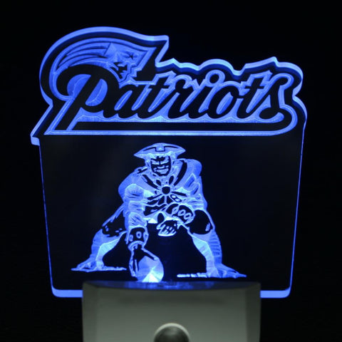 Patriots Fans 3D Lamp - Fitness Equitments