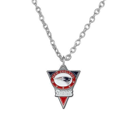 Signature Triangle Shaped Patriots Necklace - Fitness Equitments