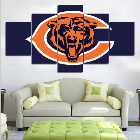 (50% OFF) HD Limited Edition Bears Canvas Logo - Free Shipping - Fitness Equitments