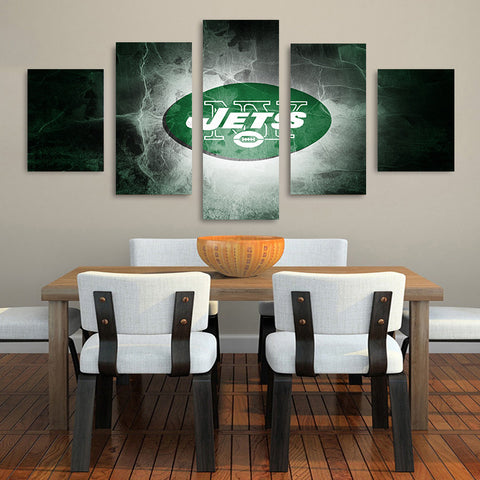 HD Limited Edition Jets Canvas Logo