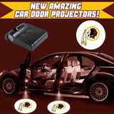 Redskins - 2 x Wireless LED Car Logo Laser Projector (44% Off Plus FREE Shipping) - Fitness Equitments