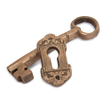 Chocolate Key and Escutcheon