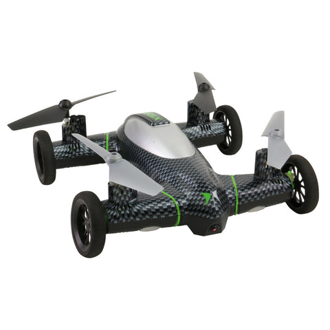 Fly n Drive Quadcopter Drone w HD Recording