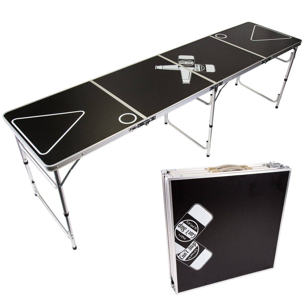 can t stop party supplies portable tailgating beer pong table easily rh cantstoppartyingsupplies com beer pong tables for pools beer pong tables for pools