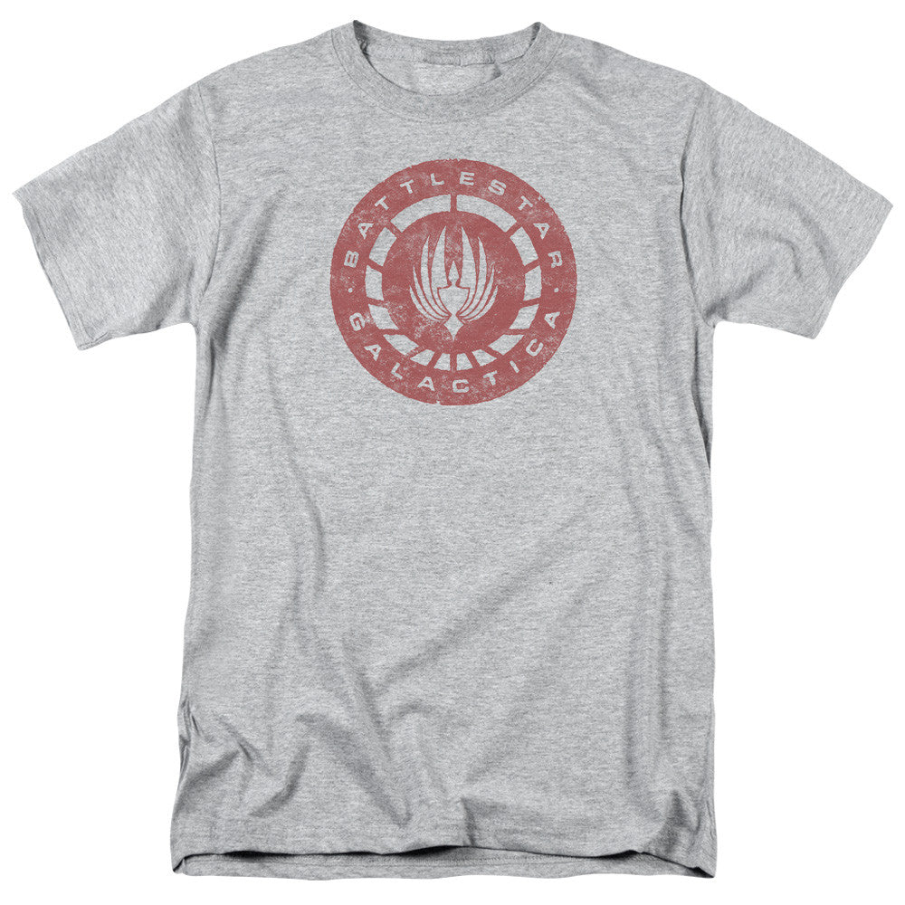 Battlestar Galactica - Distressed Logo
