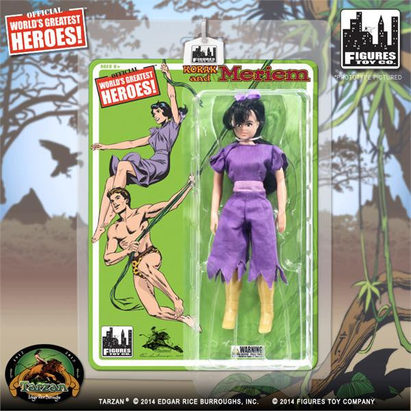 Tarzan Retro 8 Inch Action Figures Series 1: Meriem