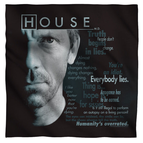 House - Houseisms Bandana