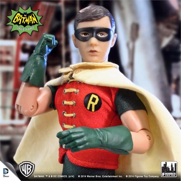 Batman Classic TV Series 8 Inch Deluxe Figurine: Robin