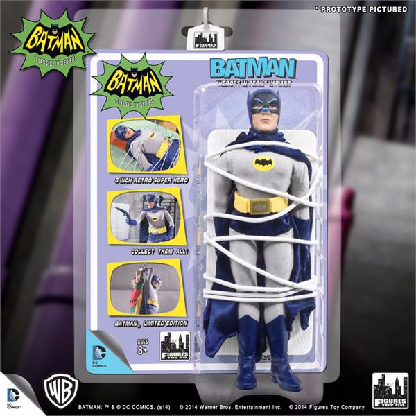 Batman Classic TV Series 8 Inch Figures