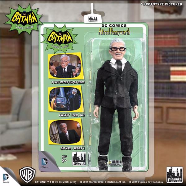 Batman Classic TV Series Deluxe Figurine: Alfred Pennyworth