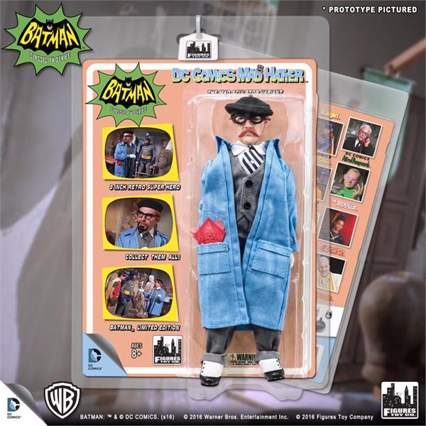 Batman Classic 1966 TV Series Retro 8 Inch Action Figures Villain Variant Series: Mad Hatter