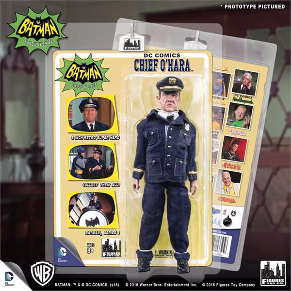 Batman Classic TV Series Deluxe Figurine: Chief O'Hara