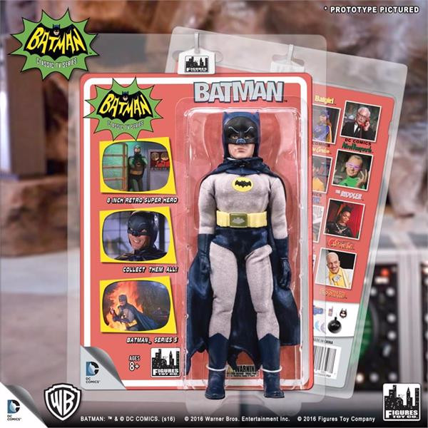 Batman Classic TV Series Deluxe Figurine: Removable Cowl Batman