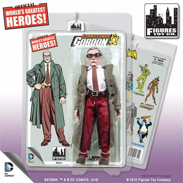 Batman Retro 8 Inch Action Figures Series 4: Commissioner Gordon