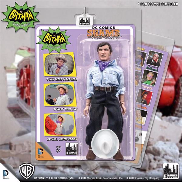 Batman Classic 1966 TV Series Retro 8 Inch Action Figures Villain Variant Series: Shame