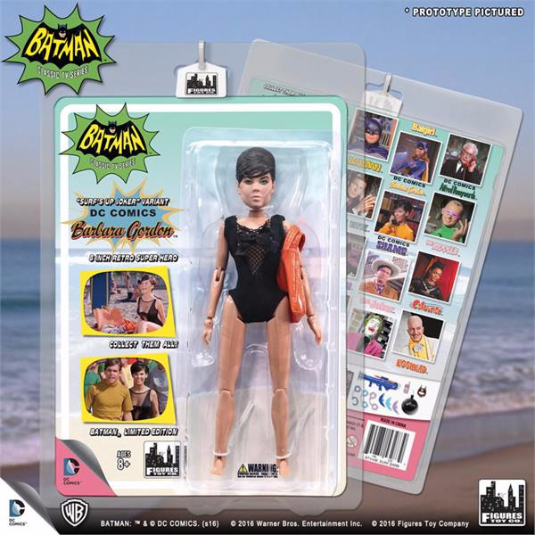 Batman Classic 1966 TV Series Retro Figurine: Surfing Barbara Gordon