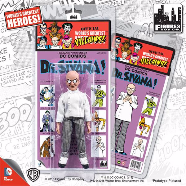 DC Comics Retro Kresge Style Action Figures Series 2: Dr. Sivana