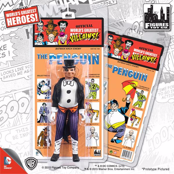 DC Comics Retro Kresge Style Action Figures Series 2: Penguin