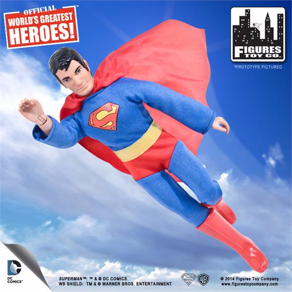 Superman 8 Inch Retro Figurine
