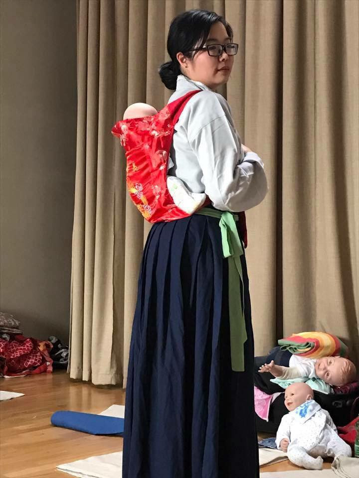 Traditional Chinese baby carrier