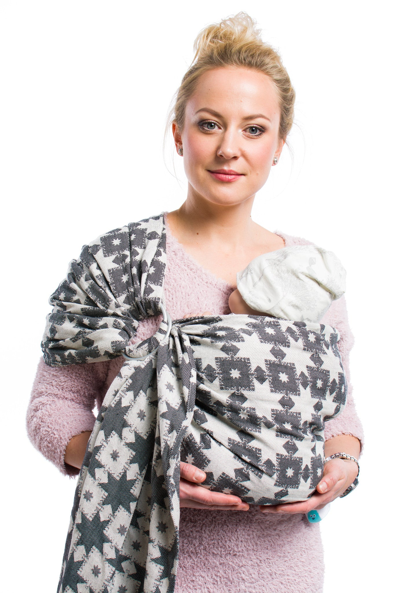 Nordic Star Black Ring Sling