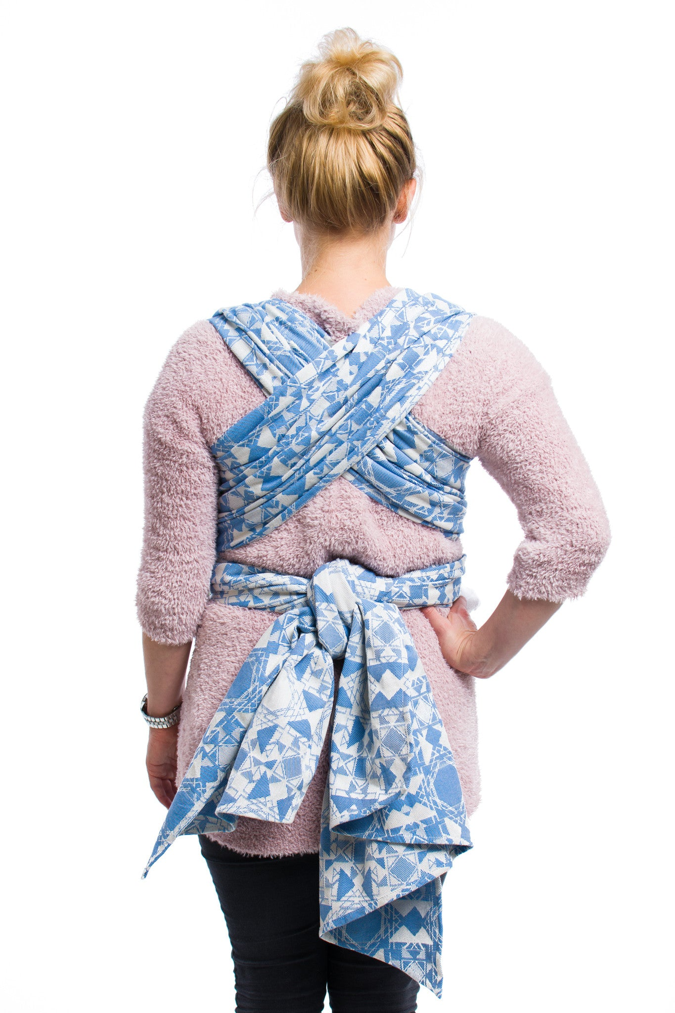 Virtue Quadrangle Blue Woven Wrap