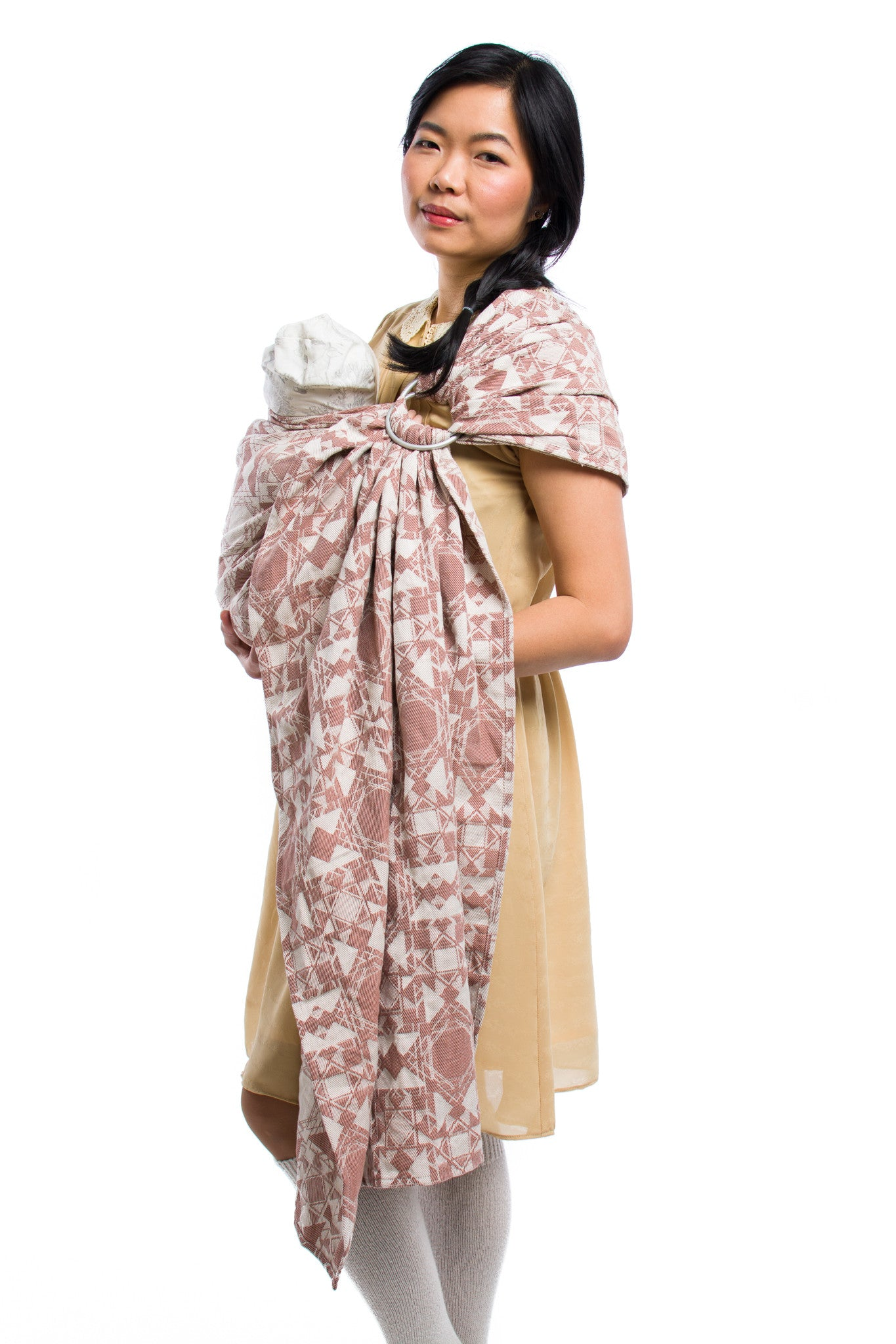 Virtue Quadrangle Terracotta Ring Sling