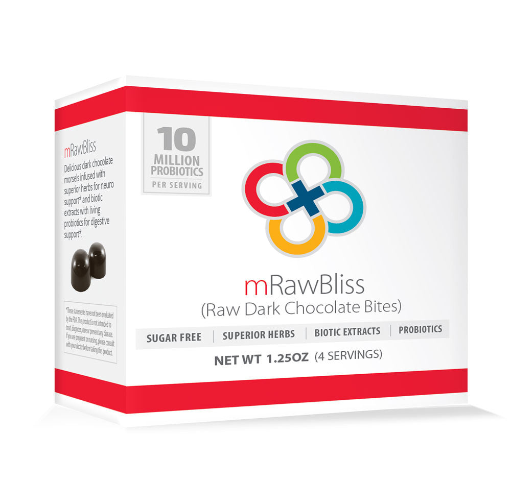 mRawBliss | Sugar Free Probiotic Dark Chocolates (Single Box)