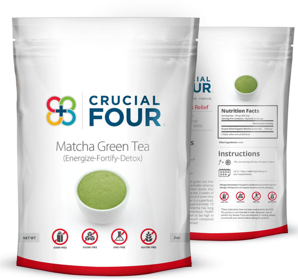 Freeze Dried Organic Matcha Green Tea