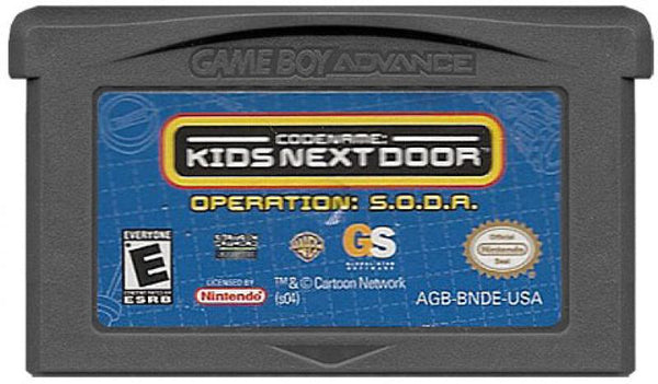 GBA Codename Kids Next Door - Operation SODA