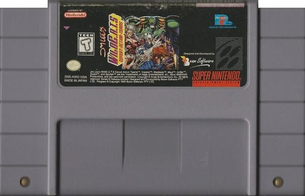 SNES Jim Lees Wild CATS - Covert Action Teams
