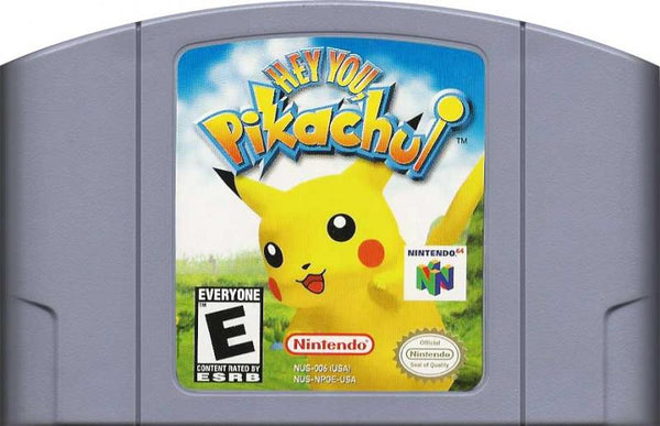 N64 Hey You, Pikachu - cart only