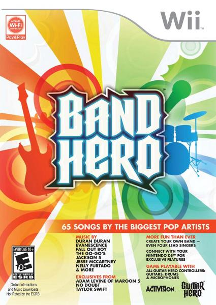 Wii Band Hero - game only
