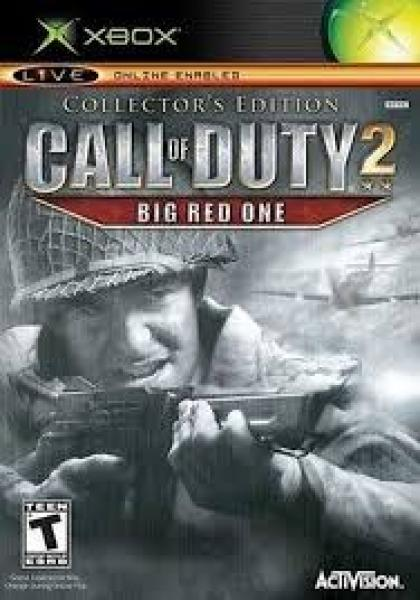 XBOX Call of Duty 2 - Big Red One - Collectors Edition