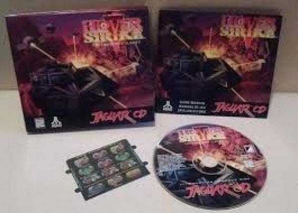 JAG CD - Hover Strike - Unconquered Lands - Jaguar CD
