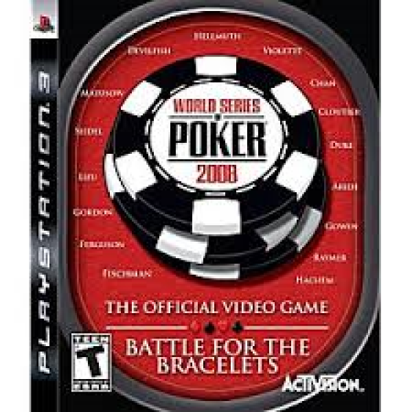 PS3 World Series of Poker 2008
