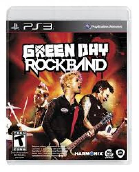 PS3 Rock Band - Green Day