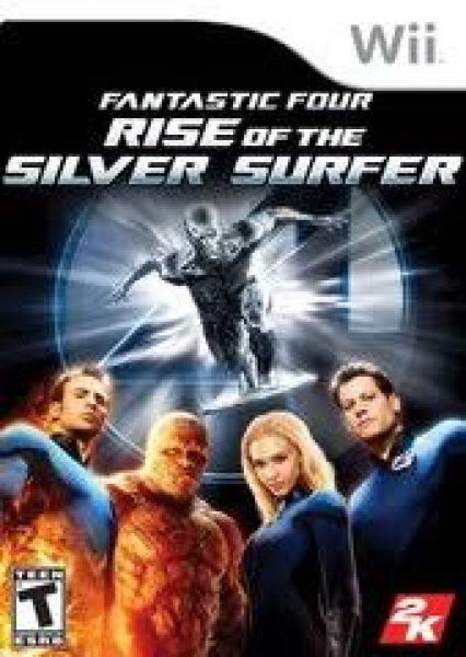 Wii Fantastic Four - Rise of the Silver Surfer