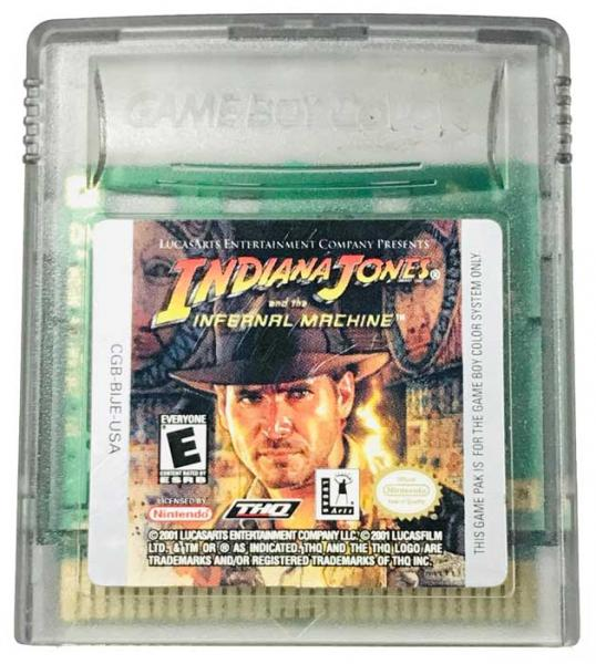 GBC Indiana Jones - Infernal Machine
