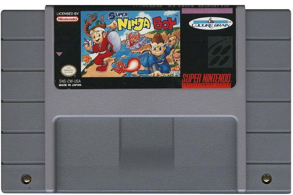 SNES Super Ninja Boy