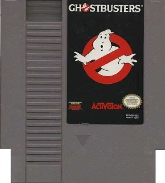 NES Ghostbusters